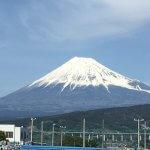 富士市中里から見た富士山